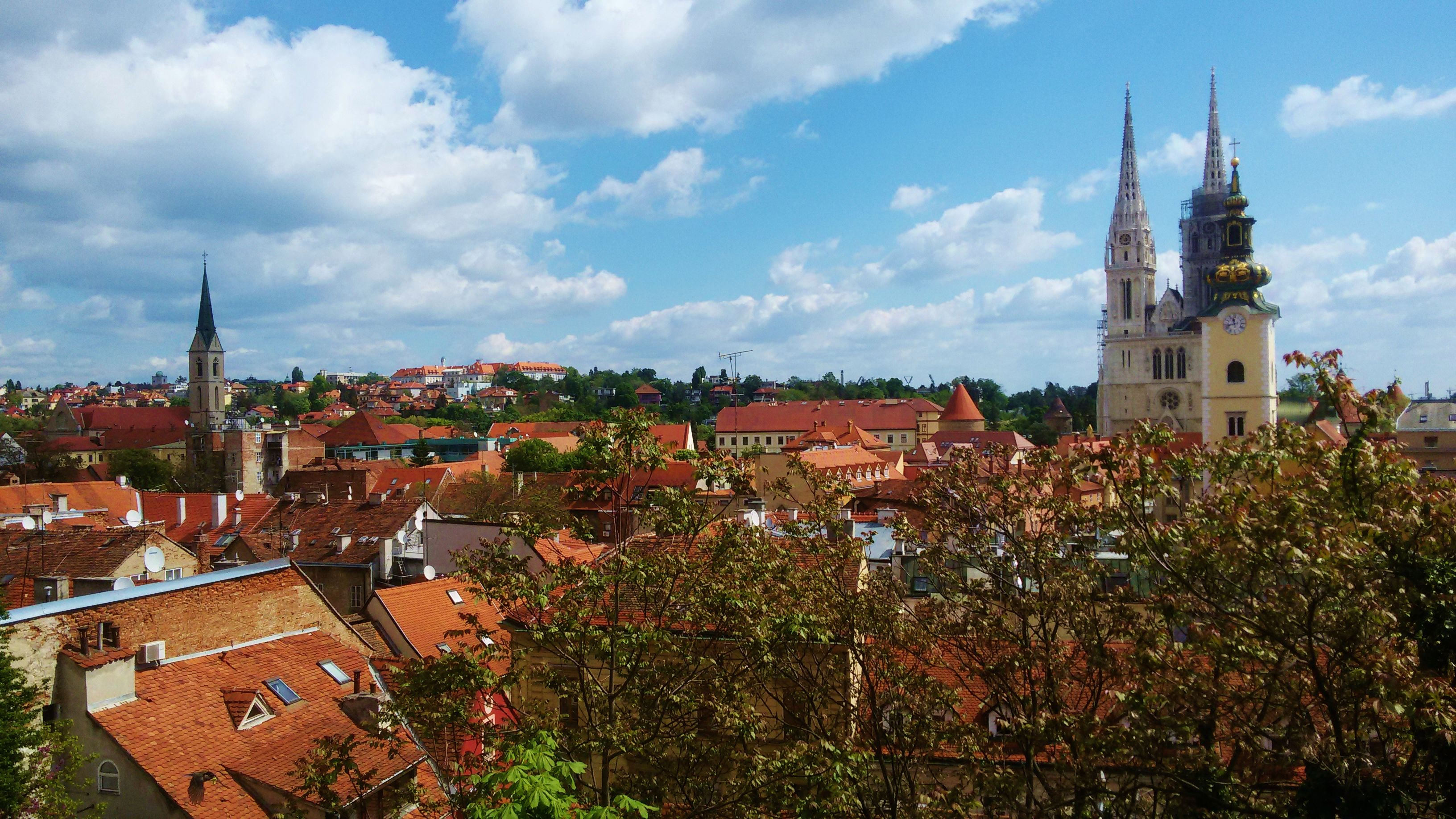 Zagreb Capital Of Croatia Zagreb Croatia House Styles
