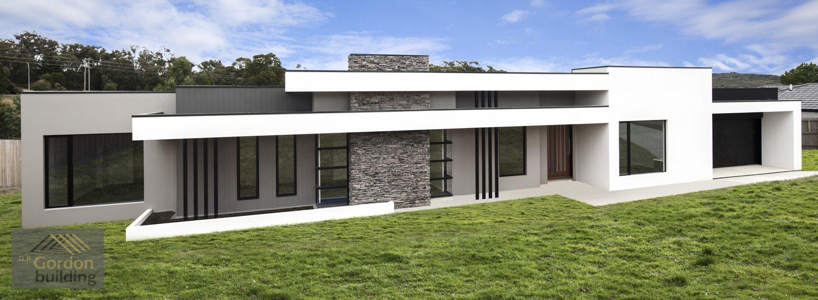Modern Homestead Facade (With images) | Facade house ...