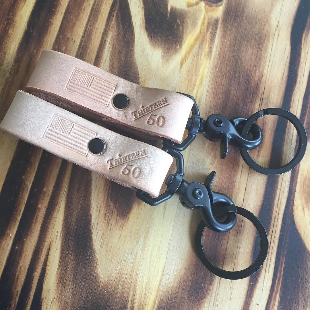 More sample Saturday. A few naturally key fobs with black hardware $15 shipped in us. DM us to pick one up.