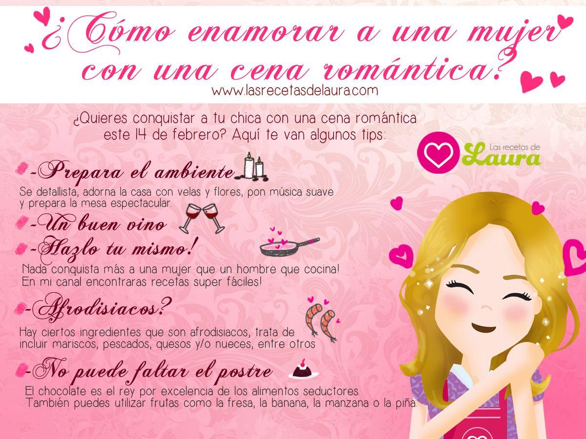 Conquistala Con Una Cena Romantica Este San Valentin Ve  ~ Recetas Para Cena Romantica En Casa