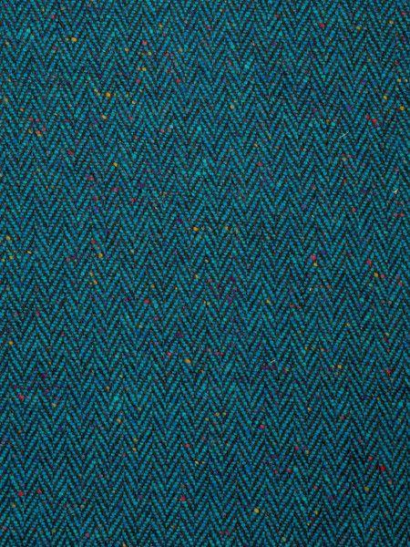 Strut Your Stuff Peacock Donegal Tweed Herringbone Avoca Wool