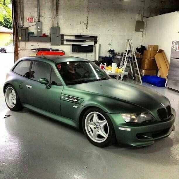 Bmw Z3 Classic Car: BMW Z3 M Coupe In Pine Metallic Green Wrap