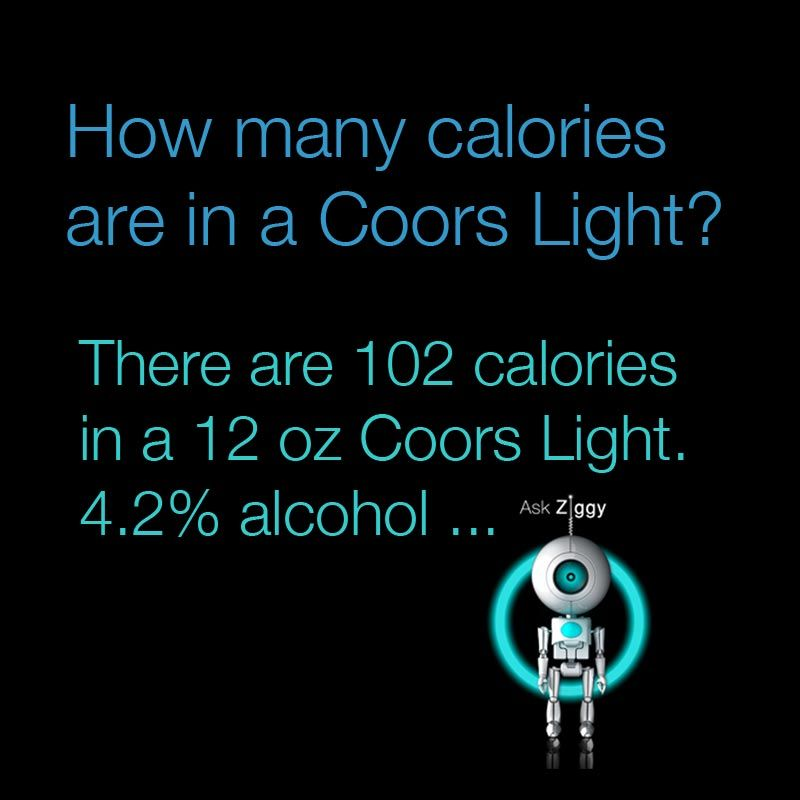 How many calories are in a Coors Light
