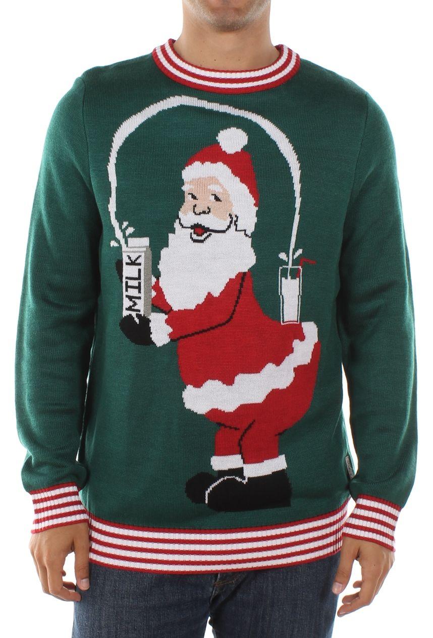 Men\'s Santa Break the Internet Ugly Christmas Sweater | Ugly ...