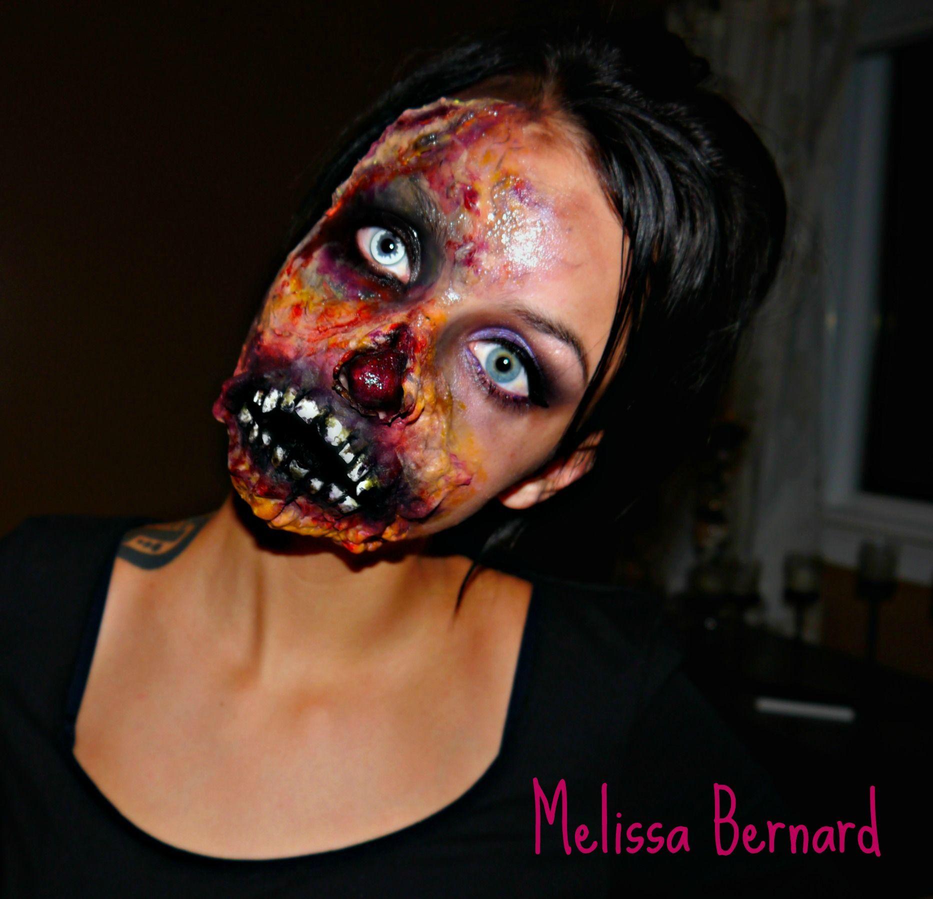 Halloween 2014 makeup zombie