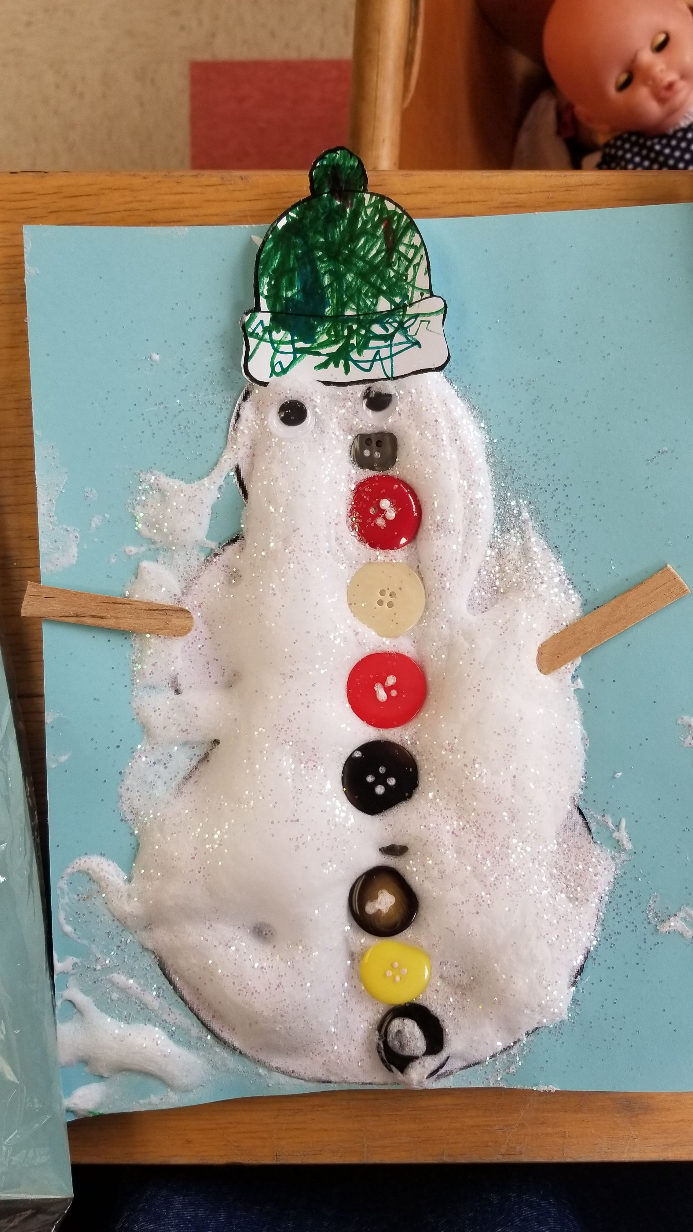 50+ Shaving cream christmas crafts ideas