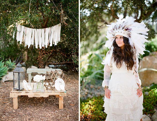 Outdoor Bohemian Wedding