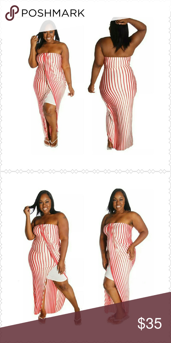 9c781d882c95 Layered Stretch Maxi Dress Fun in the Sun Stripe sleeveless stretch Maxi  Dress. Features ruching and layers for a flattering and slimming look.