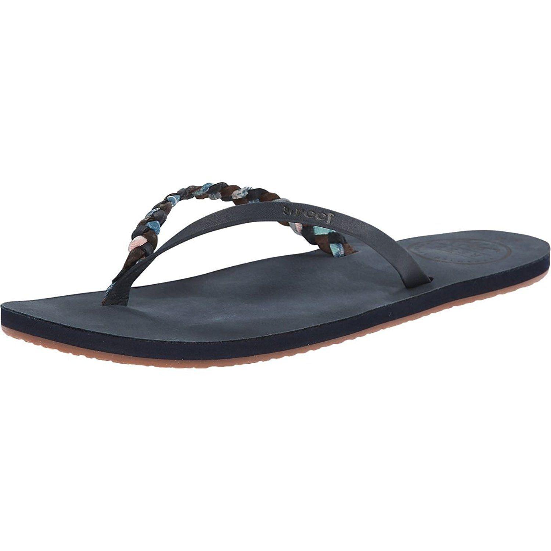 Reef Premium Twyst Flip Flop - Women's Blue, 5.0 ** Visit the image link