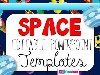 Editable space powerpoint templates powerpoint templates have fun in outer space with these these editable powerpoint templates to display morning work or seat work instructions this resource contains five ppt toneelgroepblik Choice Image