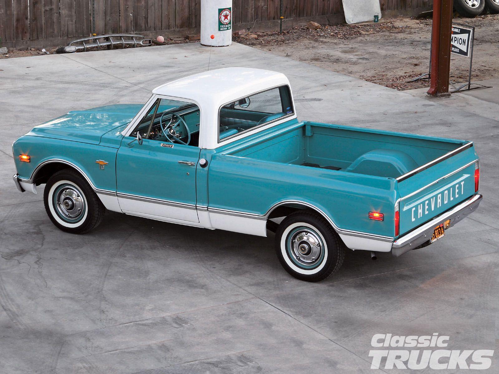 1968 Chevy C 10 Pickup Truck Classic Trucks Magazine Classic