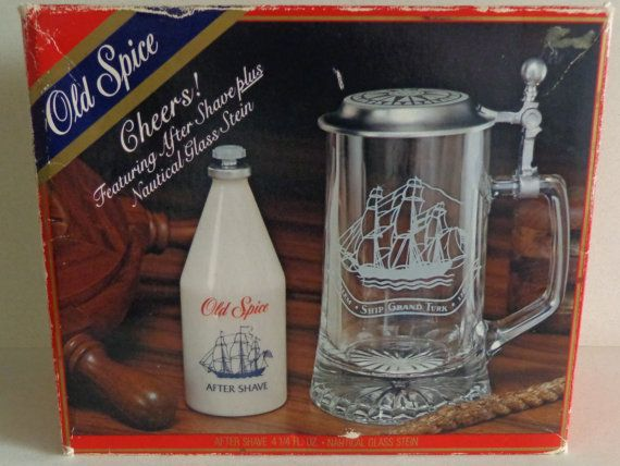 NOS Vintage Boxed Old Spice Gift Set After Shave by RocktheJewels