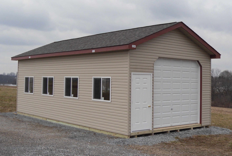 16x28 Concession Stand Garage Built In Storage Concession Stand Garage Apartments