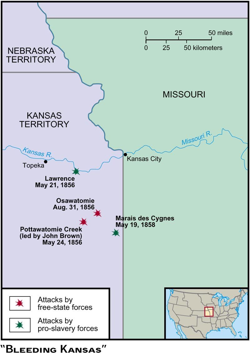(1856-1858) Bleeding Kansas