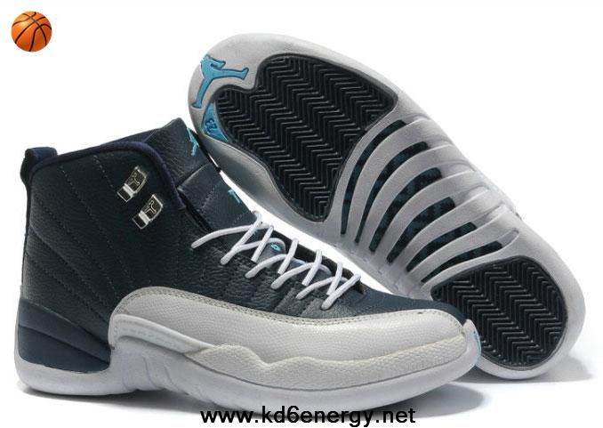 new styles 2a891 4dfac Latest Listing Discount Air Jordan 12 (XII) Retro Obsidian White - French  Blue Your Best Choice