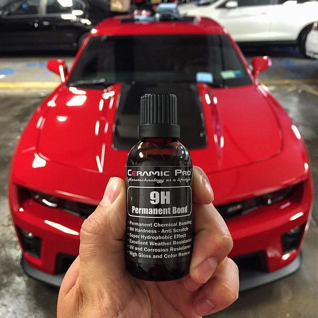 Ceramicprousa Our Secret Weapon 9h Permanent Paint Protection Camaro Zl1 Coated With A Ceramic Pro Silver Paint Protection Ceramics Secret