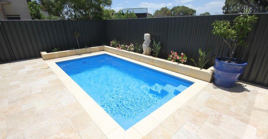 Allure 5m x aqua technics swimming pools perth for Pool design perth