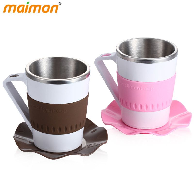 Click To Intelligent Led Temperature Heat Display Coffee Mug Cup Home Office Staineless Steel For Water Milk Tea Affiliate