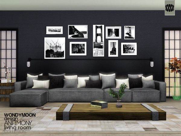 antimony living by wondymoon sims 3 downloads cc caboodle sims 4 cc furniture pinterest. Black Bedroom Furniture Sets. Home Design Ideas
