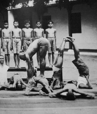 old school ashtanga