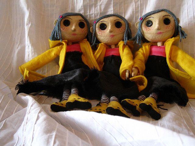The Triplets Coraline Doll Coraline Jones Coraline Movie