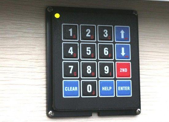 Diy Garage Door Keypad Project Diy Garage Door Garage Doors Garage Door Keypad