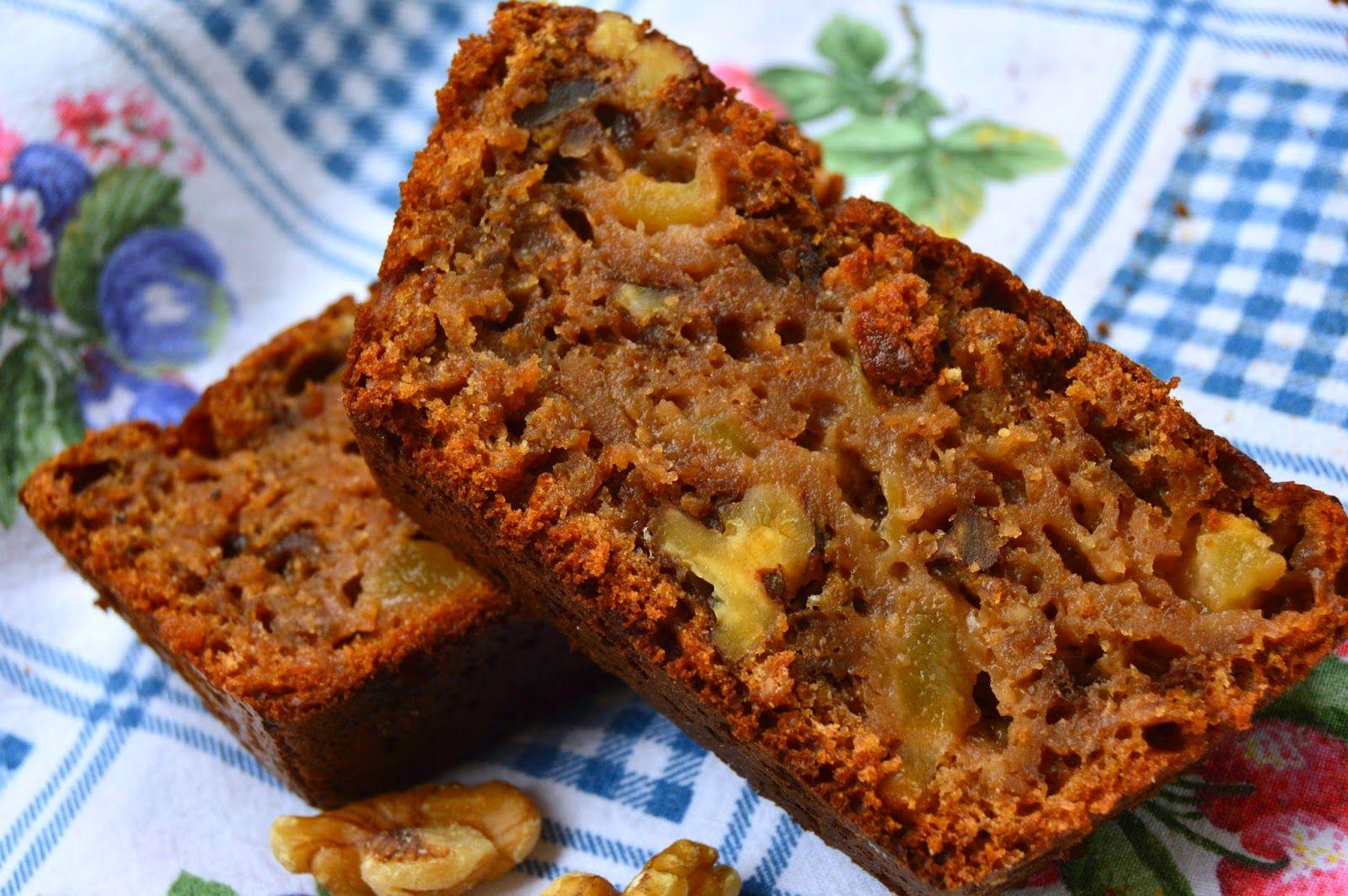 Pasión y Tentación: Bizcocho integral de manzana y nueces | Postres  saludables, Recetas con harina integral, Recetas de comida fáciles