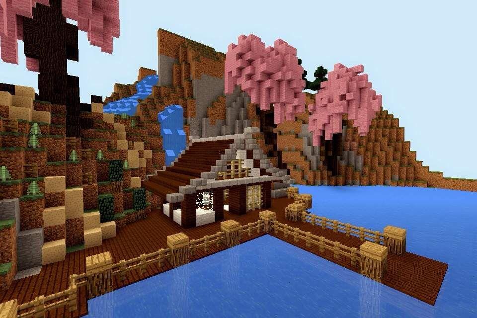 Minecraft Pe Build 6 Japanese House Minecraft Amino Minecraft Japanese House Minecraft Cottage Minecraft Designs
