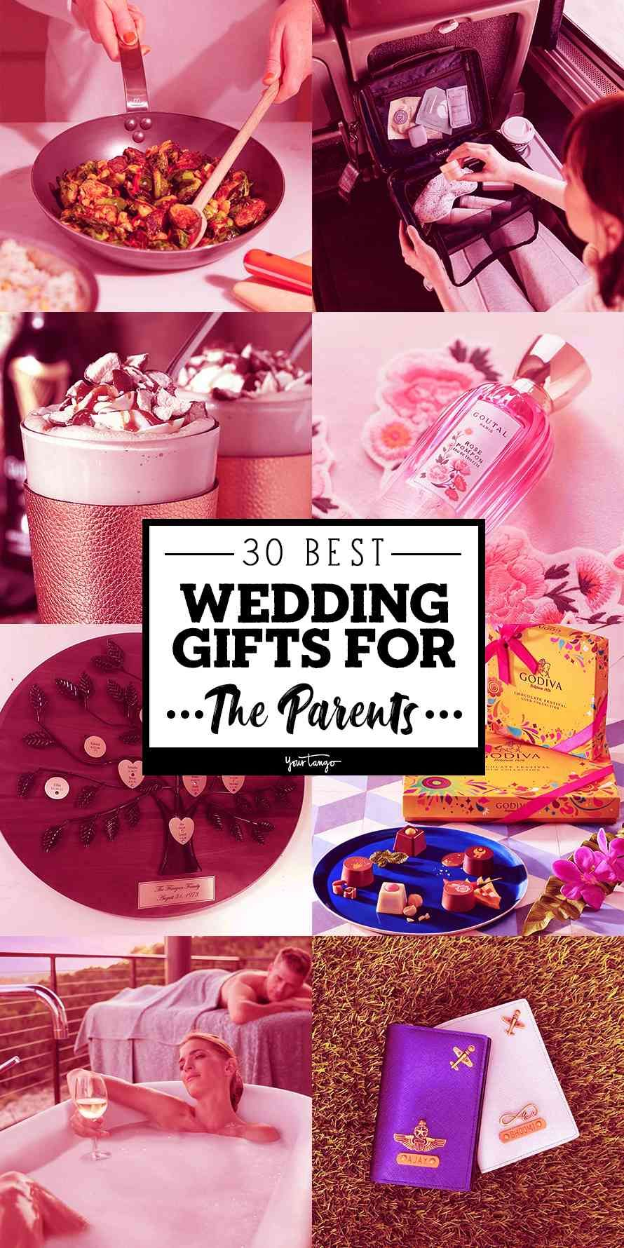 30 best wedding gifts ideas for the parents of the bride