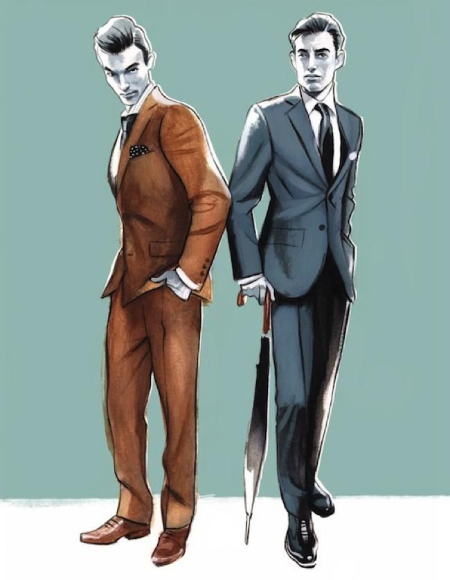 illustration homme