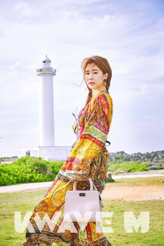 Yoo In Na Poses for 'Kwave M' and Talks About 'Goblin' | Koogle TV