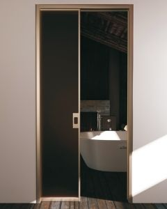 Portes Verre & Aluminium Eclisse - habillage marte slim porte ...