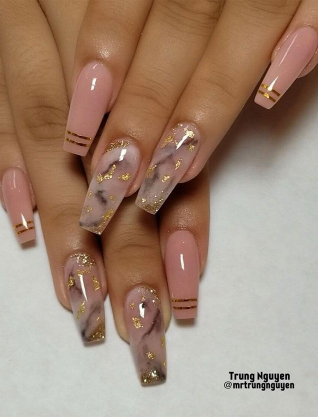 62 Best Coffin Nails Ideas For This Summer 14 Producttall Com Pretty Acrylic Nails Best Acrylic Nails Cute Acrylic Nails