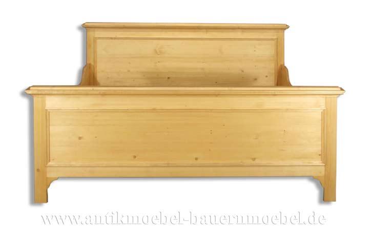 Bett Doppelbett Bettgestell 220x200 Weichholz Landhausstil