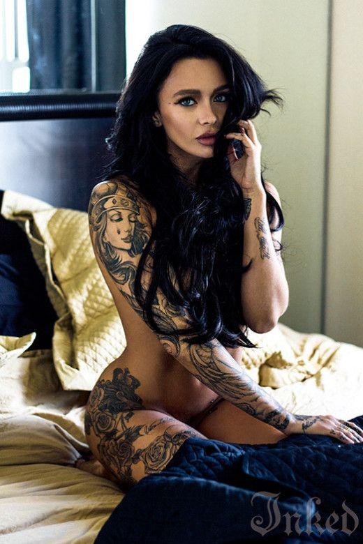 Mercedes Edison by Raymond Croft   Inked Magazine   Tattoos   Hot ...