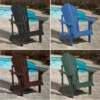 Clic Adirondack Collection Two Of The Blue Ones Deck