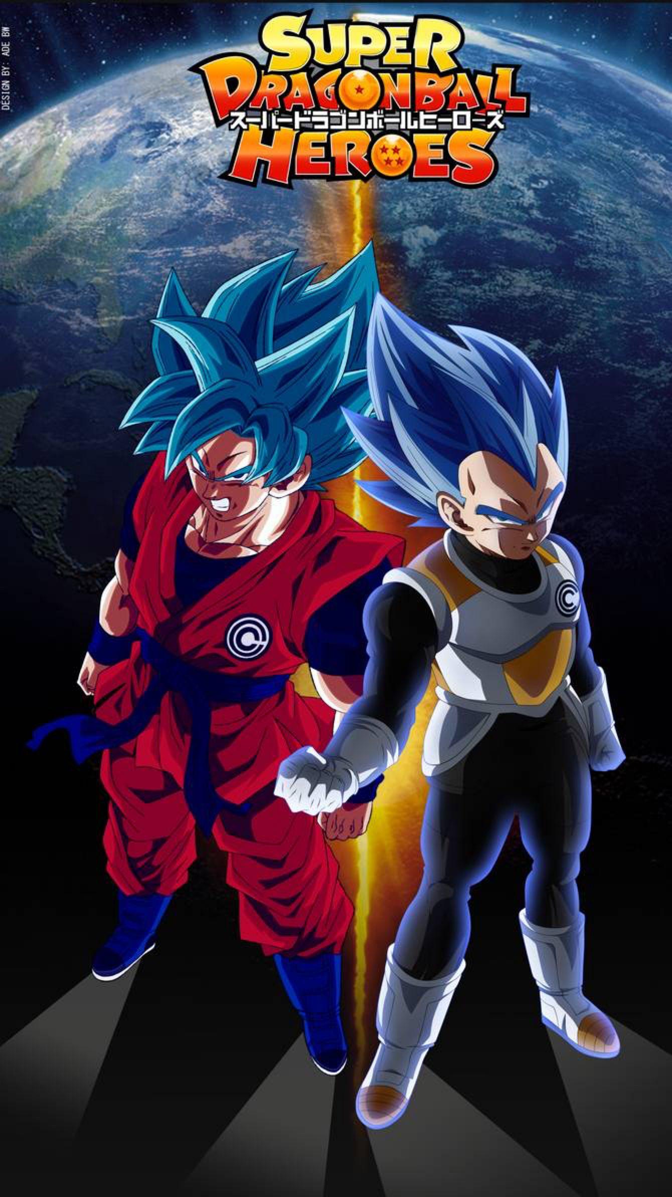 Goku And Vegeta Hero By Adb3388 On Deviantart Anime Dragon Ball Super Dragon Ball Super Art Dragon Ball Super Goku