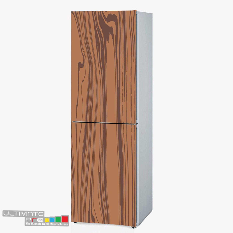 Wallpaper Wood Texture Refrigerator Wrap Pattern Fridge