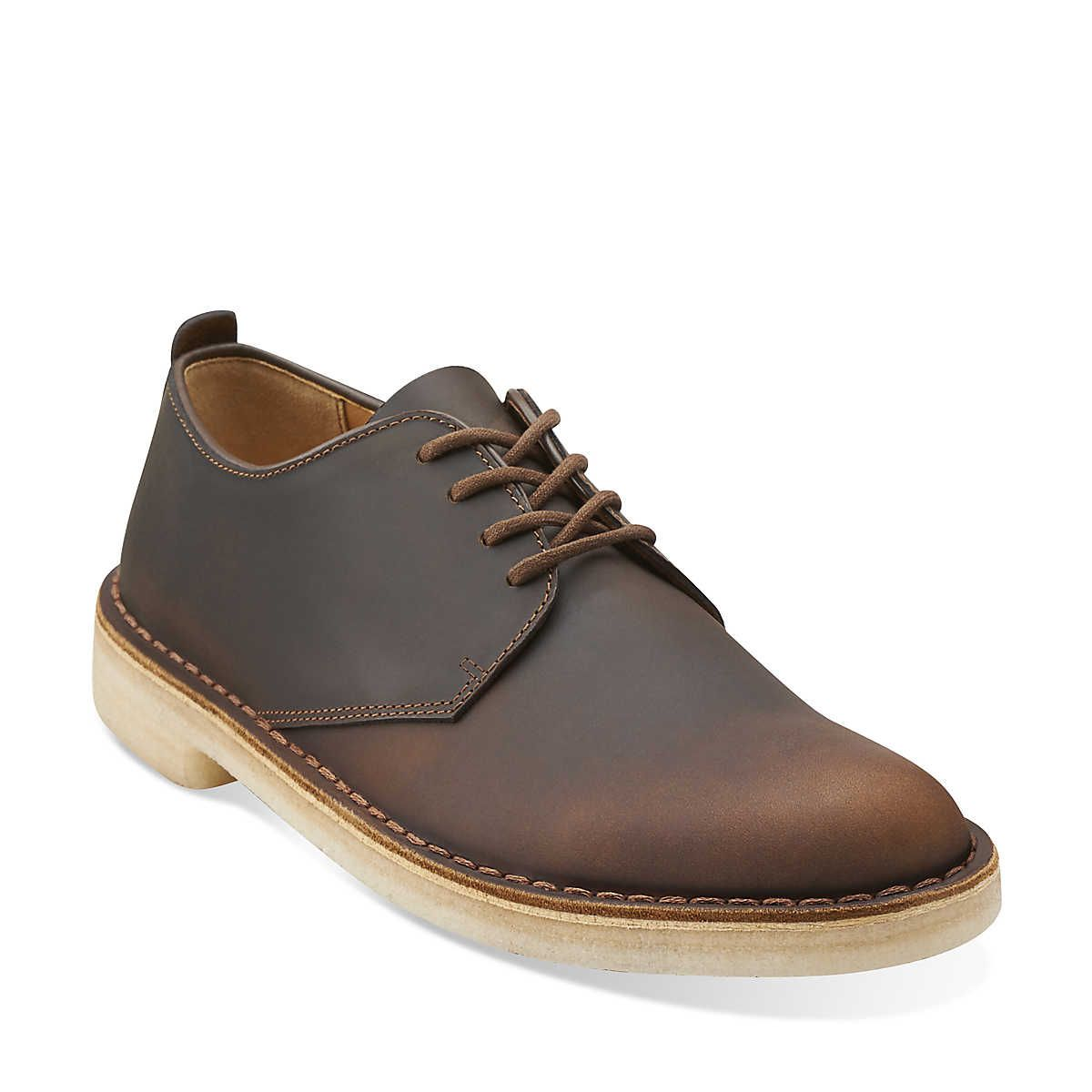 Desert London in Beeswax Leather - Mens Shoes from Clarks