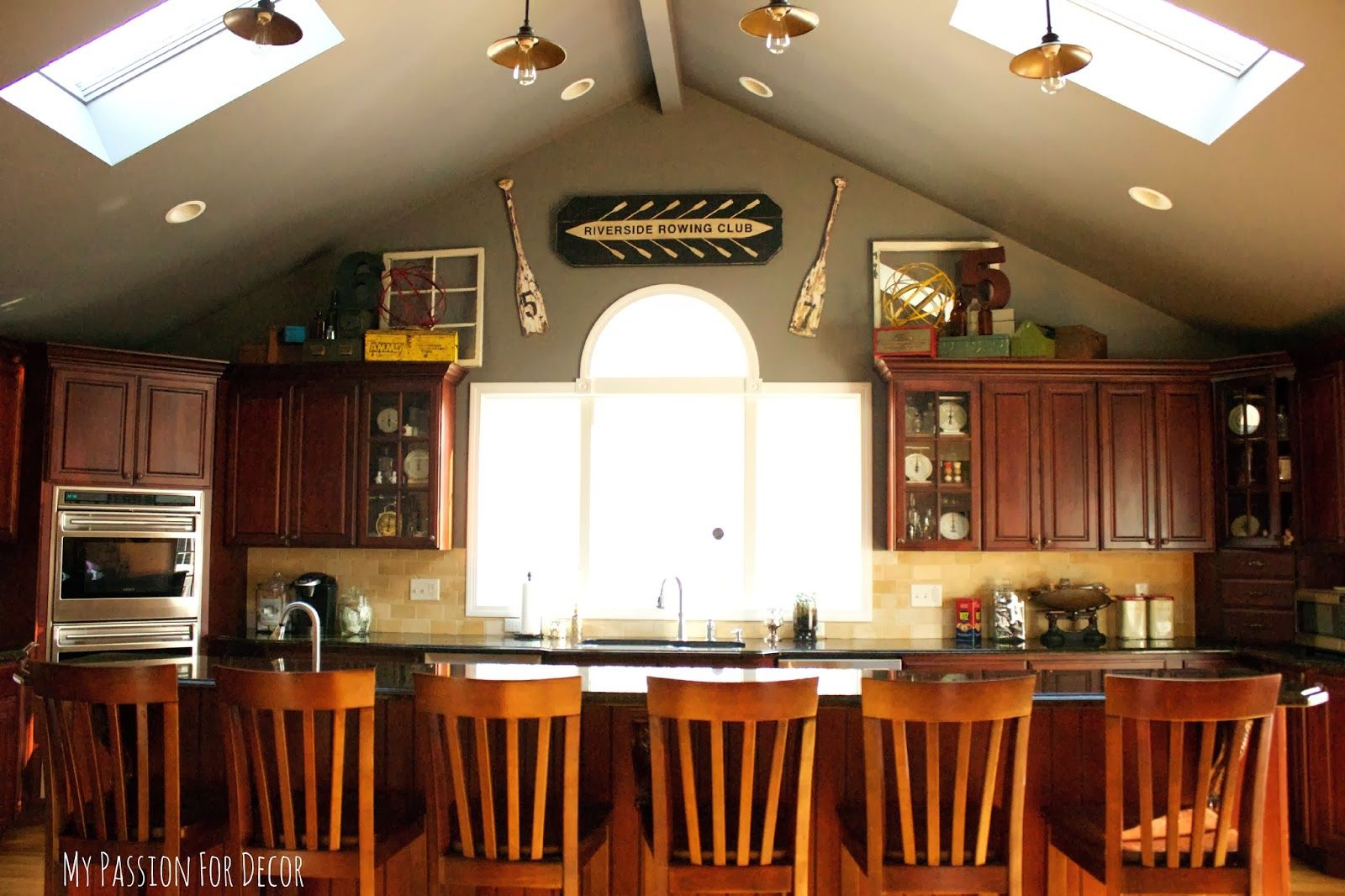 My passion for decor the kitchen tour vintage industrial my