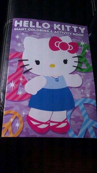Hello Kitty Giant Coloring Activity Book Hello Kitty Hello Kitten Hello Kitty Collection