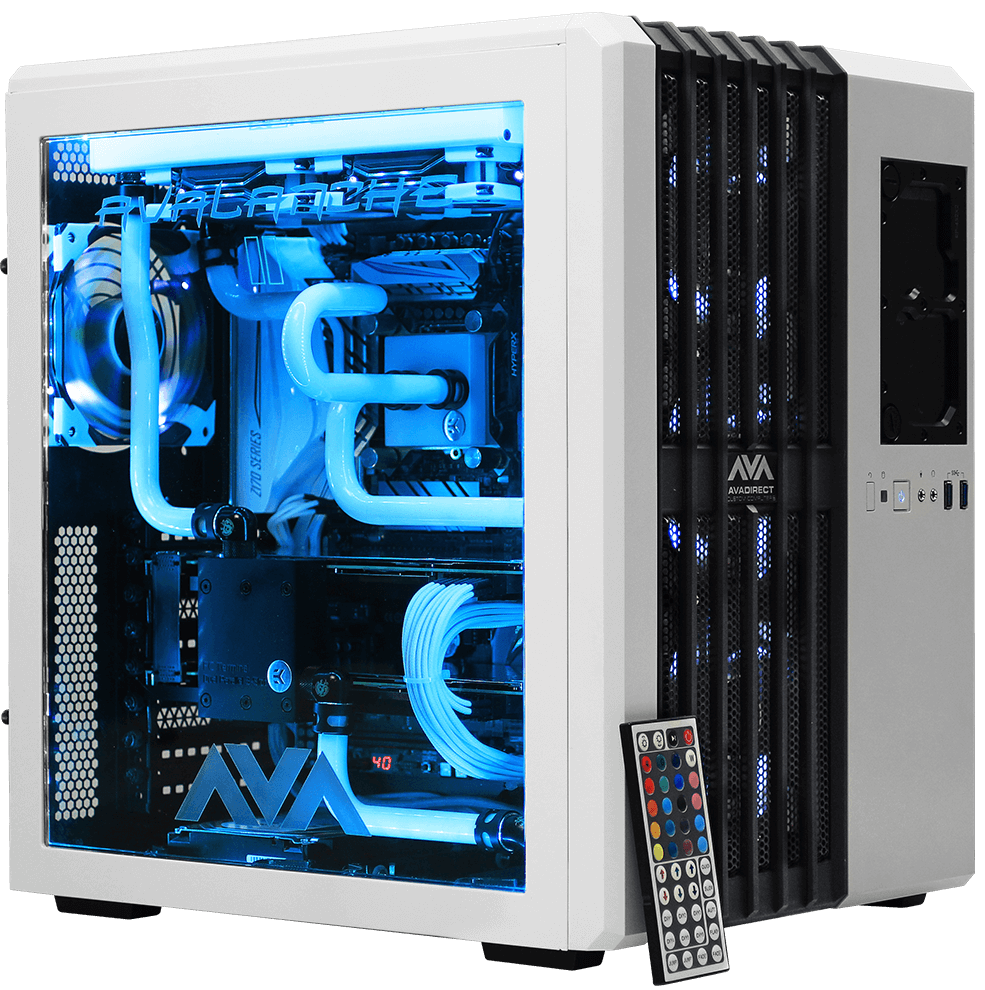 Avalanche 2 Hardline Liquid Cooled Custom Gaming Pc Gives You A