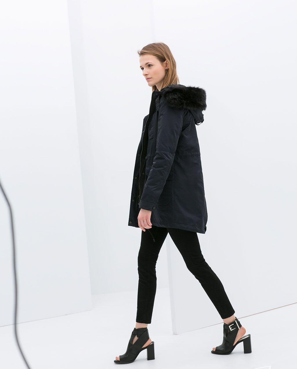 Image 3 of UTILITY JACKET from Zara