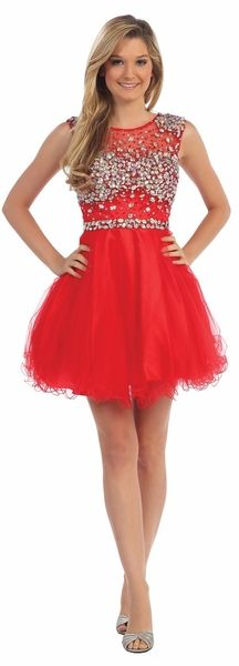 Cute Short Red Winter Formal Dress Discountdressshop Prettydress