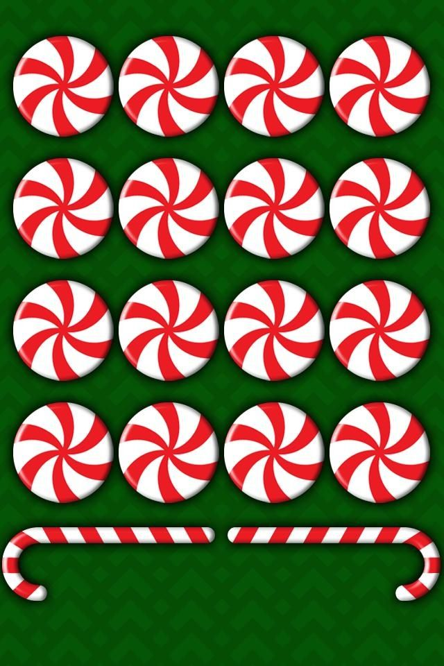 Group of Kawaii Christmas Wallpaper Pattern