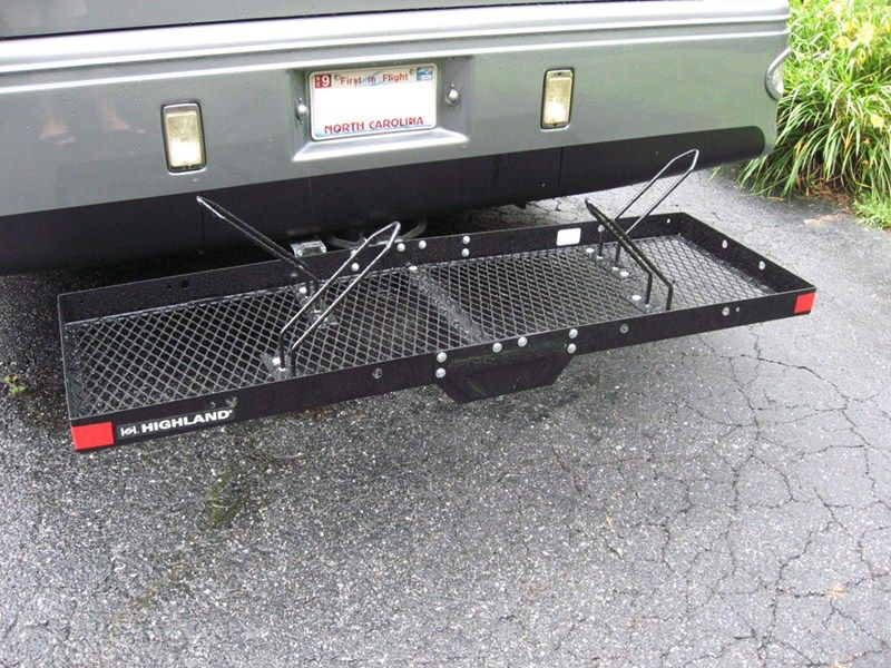 Bike Rack Adapter For Stromberg Carlson Hitch Mounted Cargo Carrier Accessories And Parts Cc 125