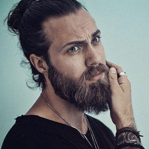 35 Best Man Bun Hairstyles 2021 Guide Beard Styles Beard No Mustache Beard Styles For Men