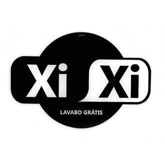 a2cb0ad3994a2 Placa de lavabo Xixi