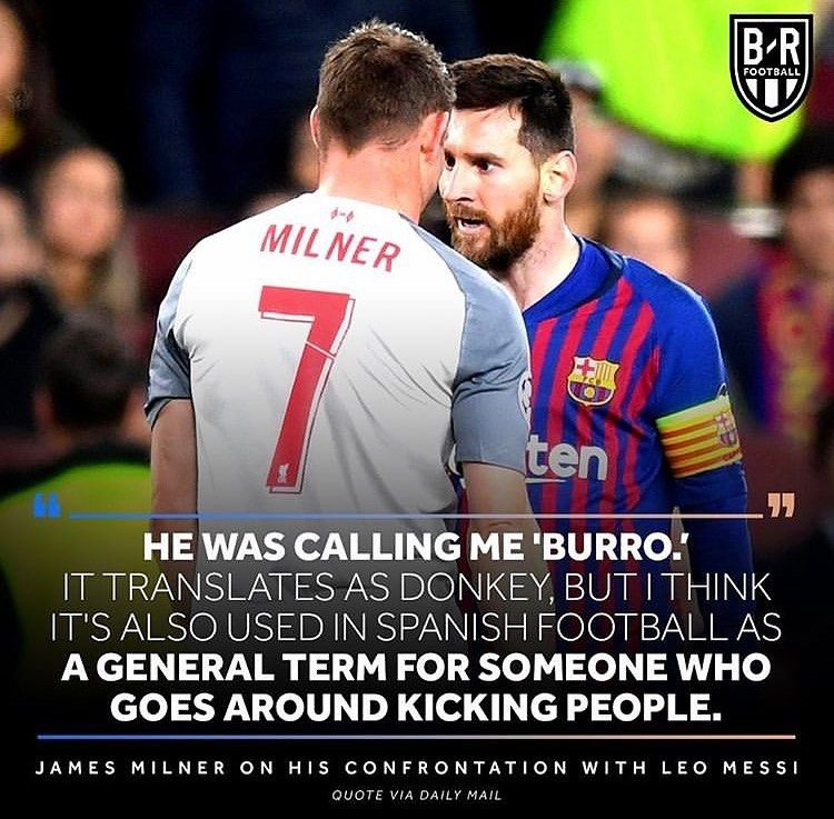 Messi Vs Milner Tag A Mate Brfootball
