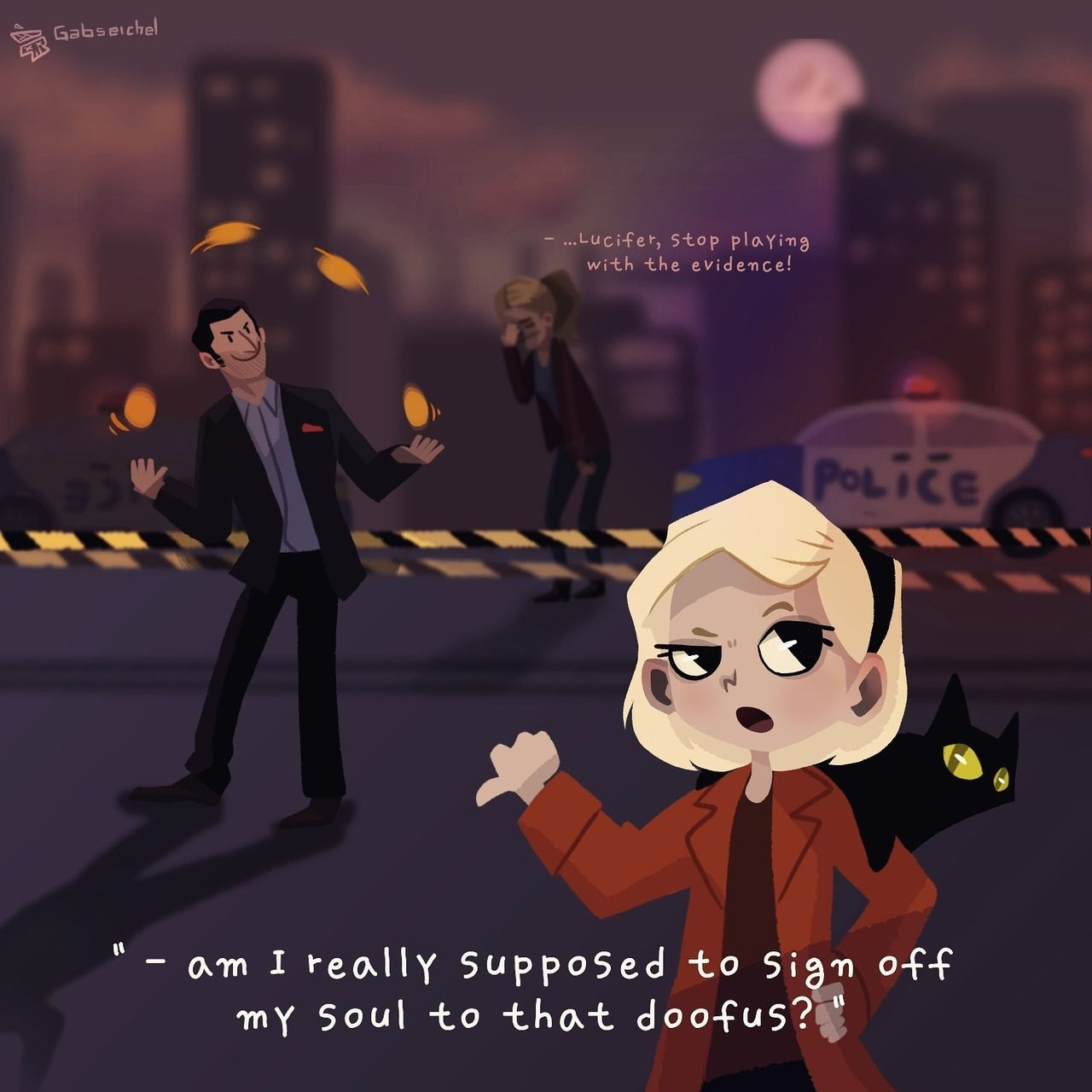 This Is Why We Ll Never Get A Crossover Between Lucifer And